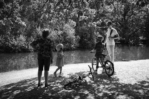 Epping Forest bike ride family | by John Havery Samuel