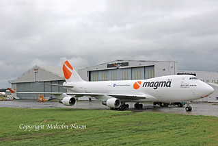 B747-412F TF-AMC AIR ATLANTA\MAGMA