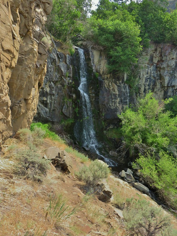 Waterfall on DeGarmo Creek
