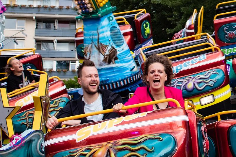 Sfeerbeelden Tilburgse vakantiekermis | Zaterdag 25  Juli 2020