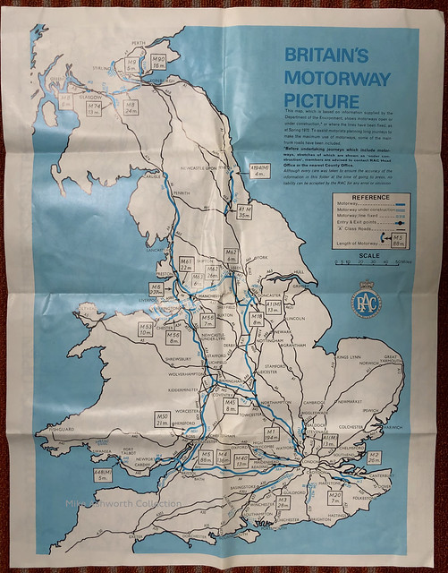 RAC - know your motorways, June 1972 - Britain's motorway picture
