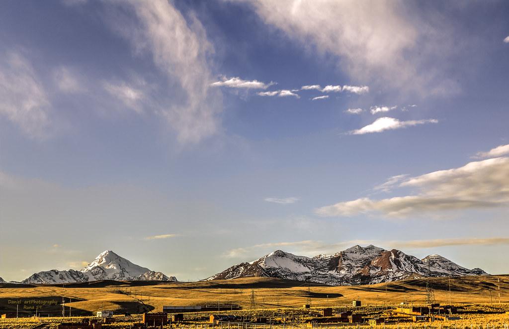 Cielo sobre los Andes