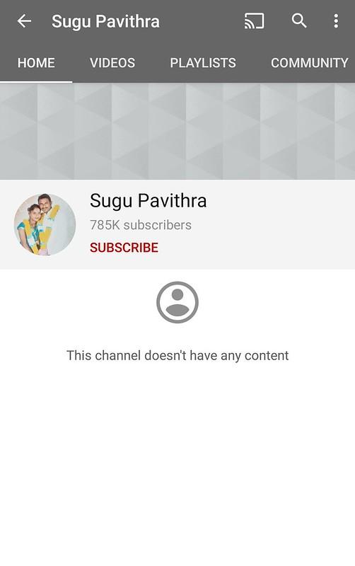 Sugu Pavithra Padam atau Setkan Semua Video Di YouTube Sebagai Private?