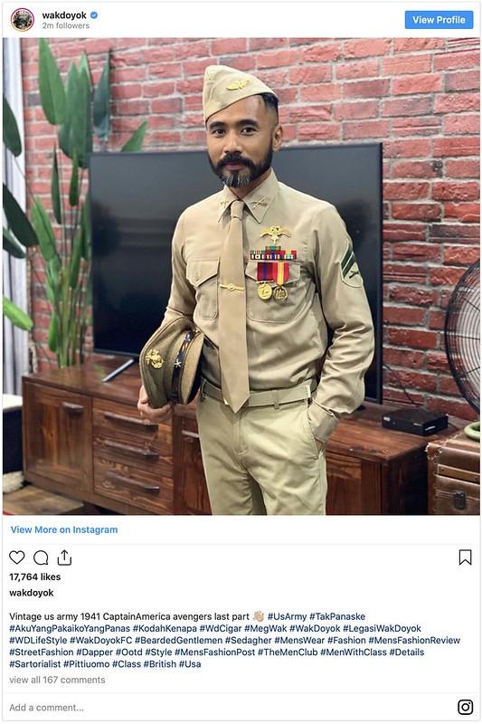 Wak Doyok Ditegur Netizen Mat Salleh Selepas Muat Naik Gambar Ini Di Instagram