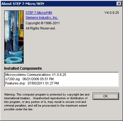 SIEMENS STEP 7 MicroWIN V4.0.9.25 SP9 x86 x64 full
