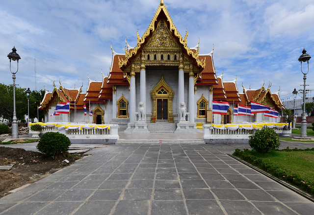 (Explored) Wat Benchamabophit (The Marble Temple), Bangkok, Thailand D810 422