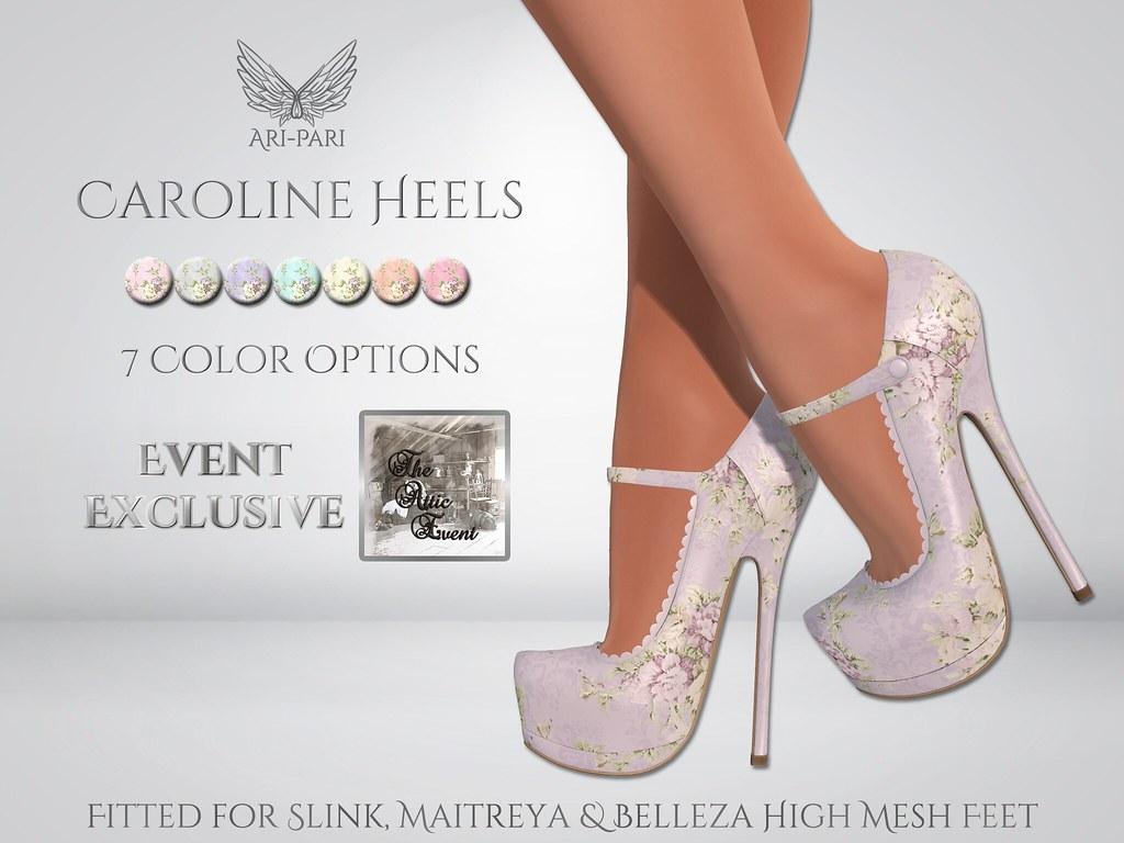 [Ari-Pari] Caroline Heels