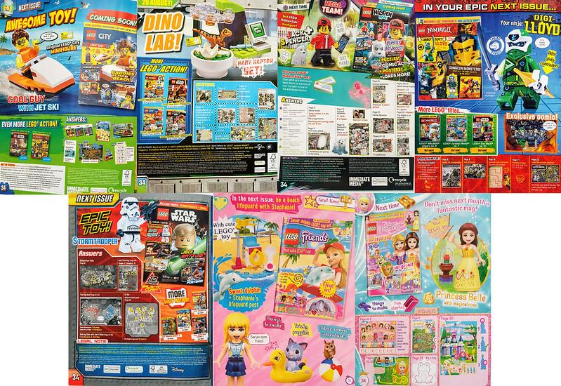 LEGO Magazine August Next