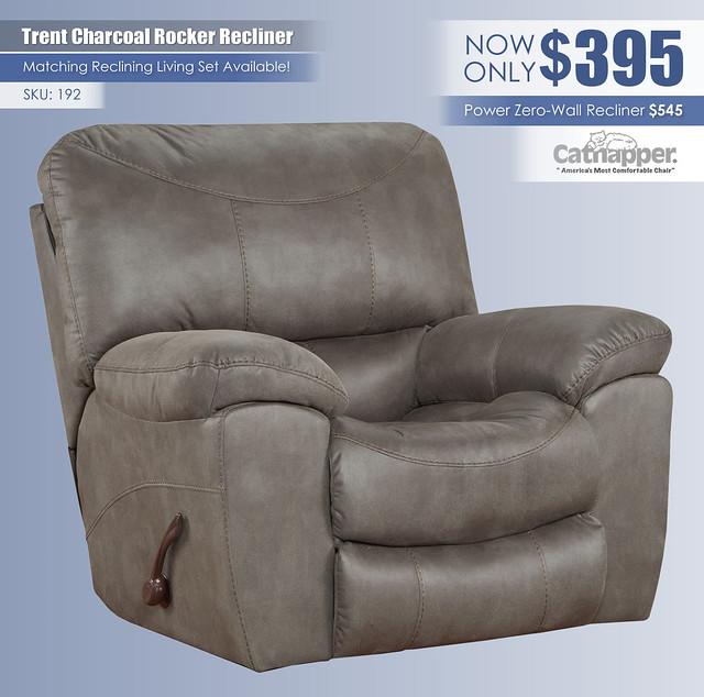 Trent Charcoal Recliner_Catnapper 192
