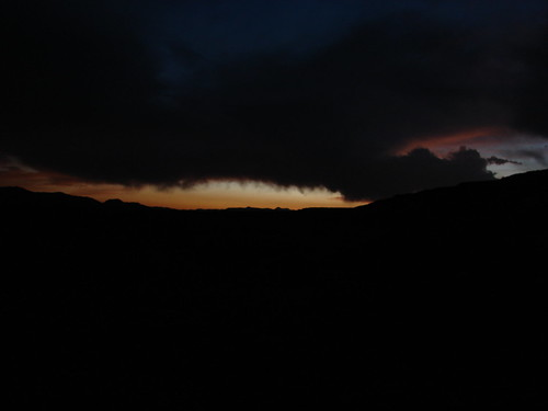 Sunset at Fort Churchill