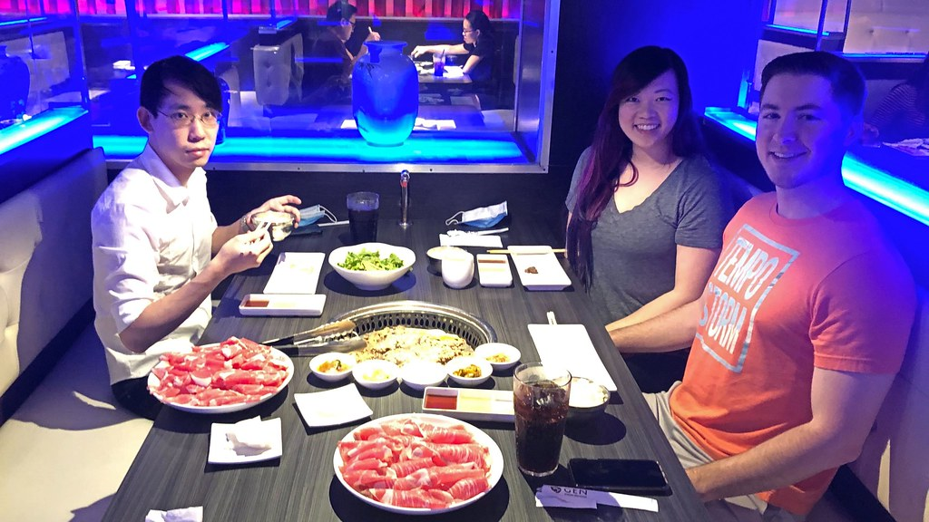 Gen Korean BBQ with Monica and her boyfriend