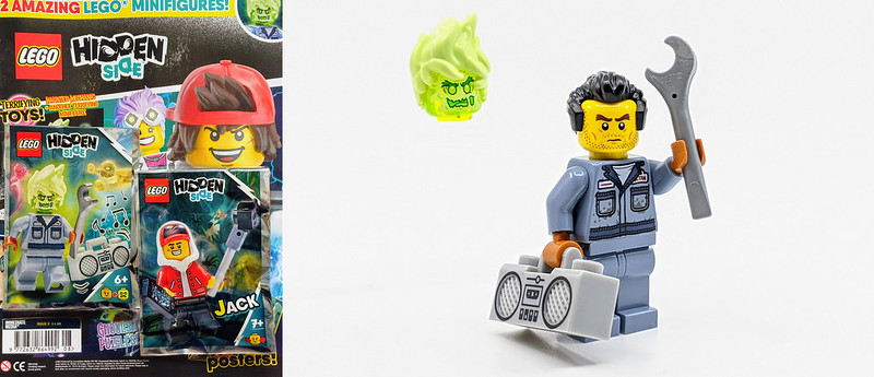 LEGO Hidden Side Mechanic