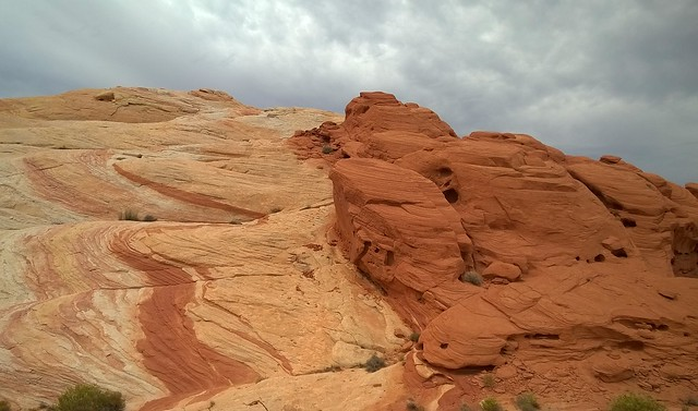 View on the Fire Wave Trail, Valley of Fire State Park  8/25/2015