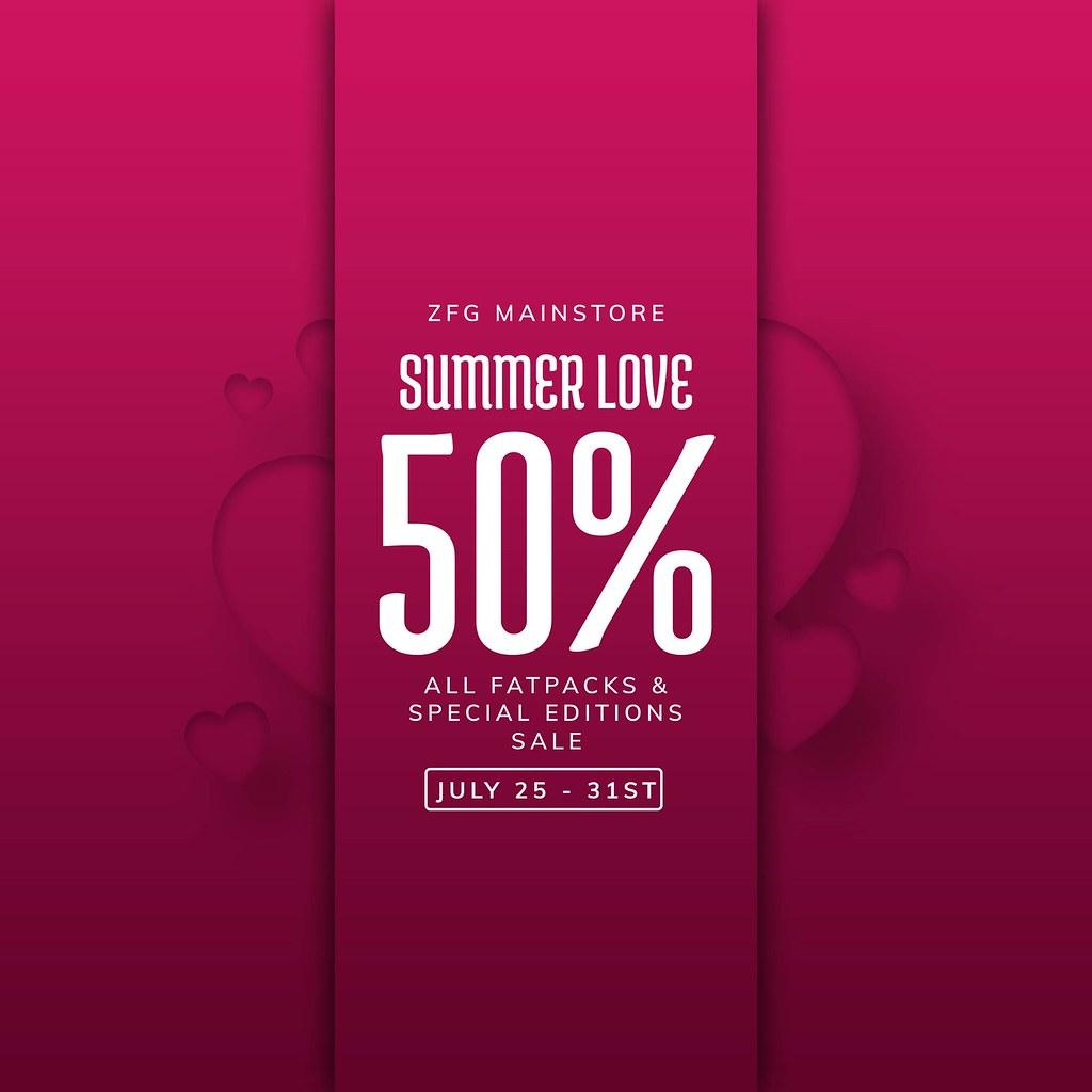 ZFG SUMMER LOVE SALE