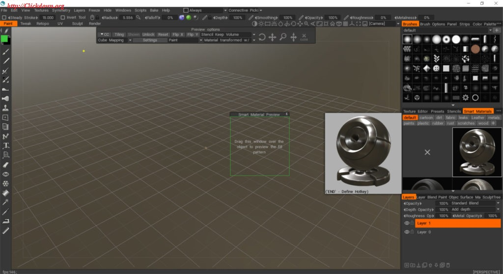 Working with 3D-Coat 4.9.55 full