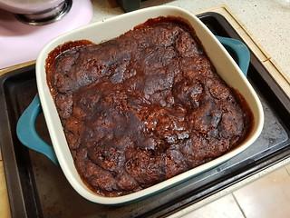 Chocolate Self-Saucing Pudding