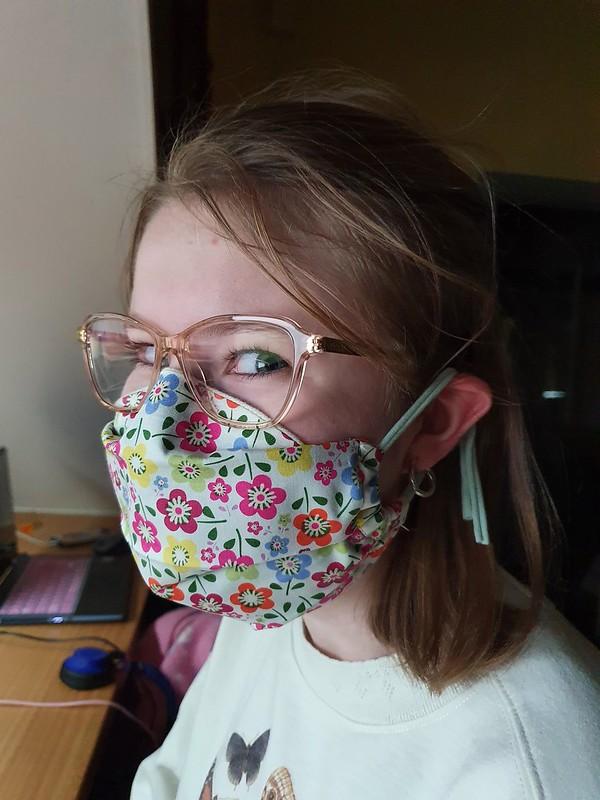 Hybrid nose2 mask