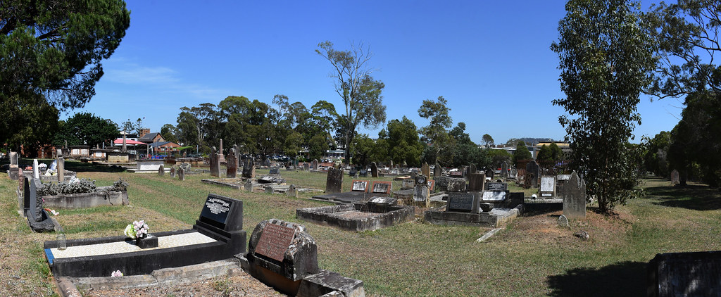 St Peters Anglican Cemetery, Campbelltown, Sydney, NSW.