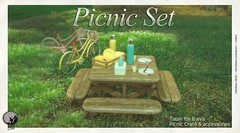 New release : Picnic Set as part of the Secret Sale Sundays