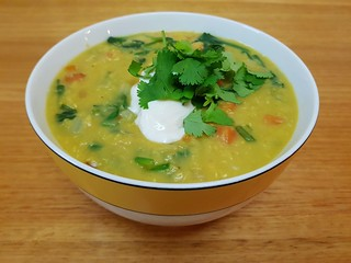 Spiced Dhal Soup
