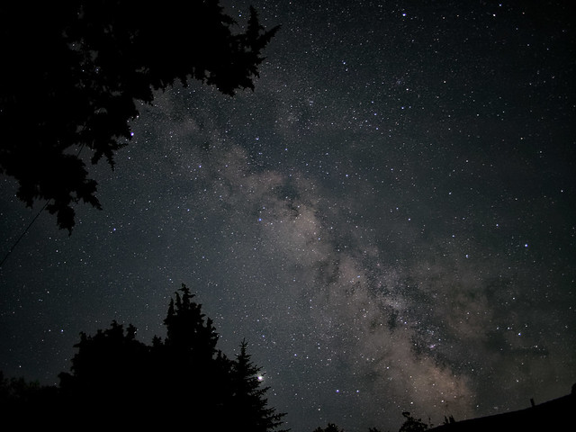 Milky Way, above my house