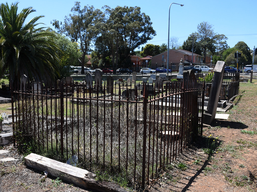 The Presbyterian Cemetery, Campbelltown, Sydney, NSW.