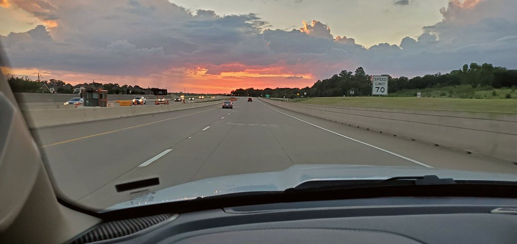 Dallas–Fort Worth sunset