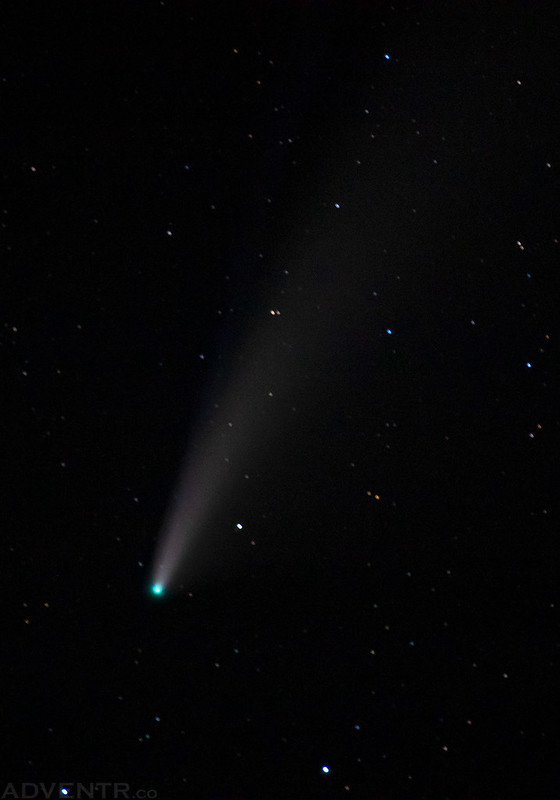Comet NEOWISE Zoom