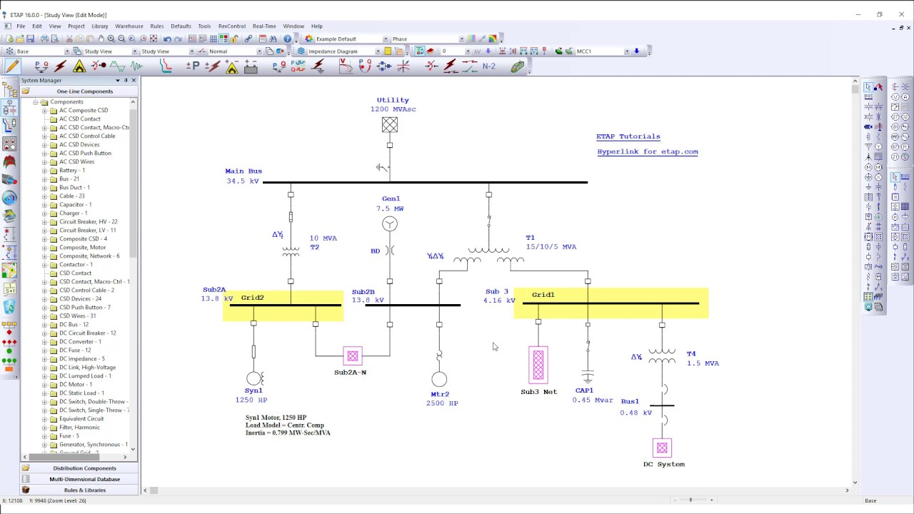 Working with ETAP 16.0.0 full license