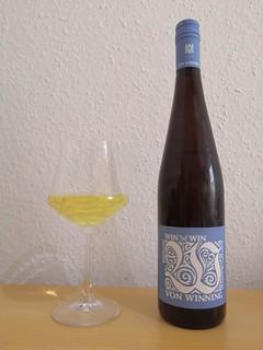 2018er Win-Win Riesling trocken, Weingut von Winning