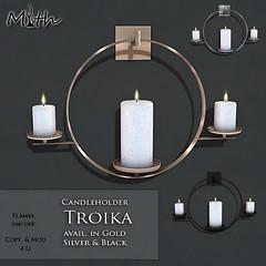 Wall Candleholder Troika