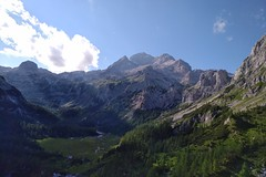 First view of the Triglav