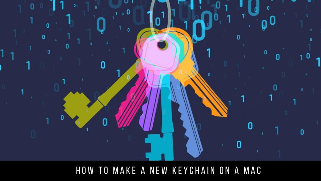 How to Make a New Keychain on a Mac