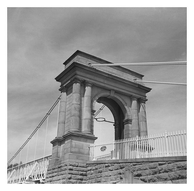 FILM - Wilford suspension bridge