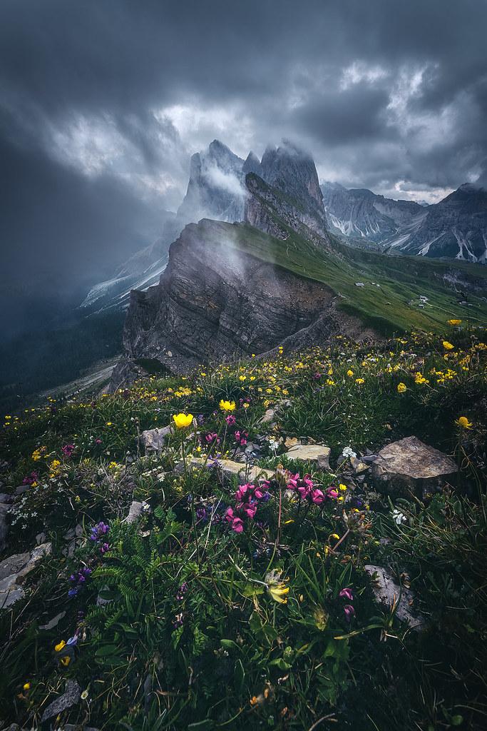Dolomites - Seceda 2500