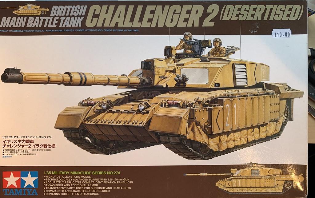 Challenger II box