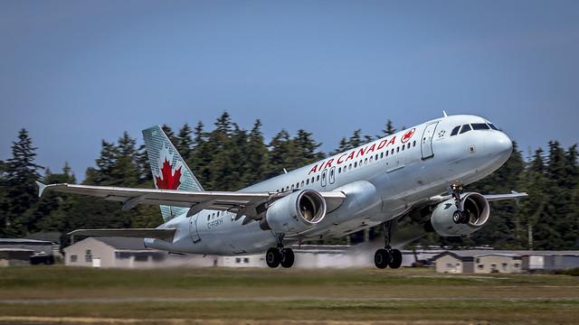 Air Canada Airbus 320