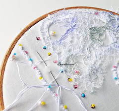 wispy lace cloth