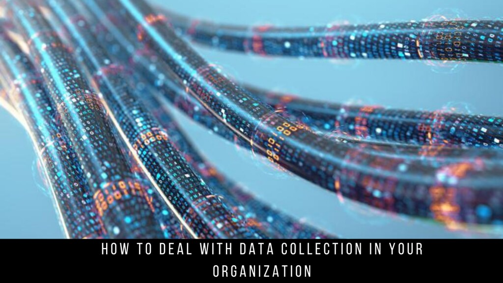How to deal with data collection in your organization