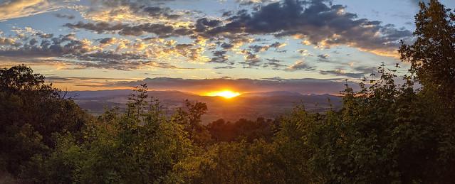 Sanpete county golden hour sunset [Explore 27 Jul 2020]