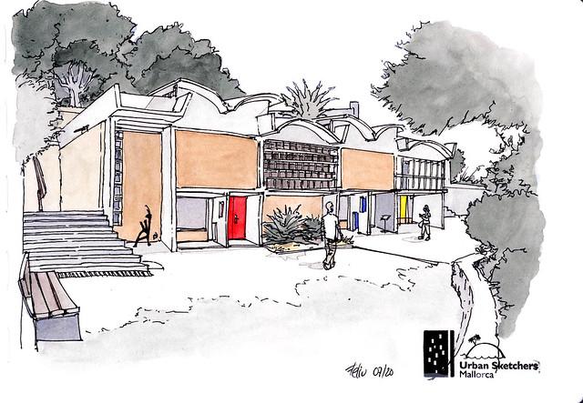 Fundació Pilar i Joan Miró de Palma. Taller Sert