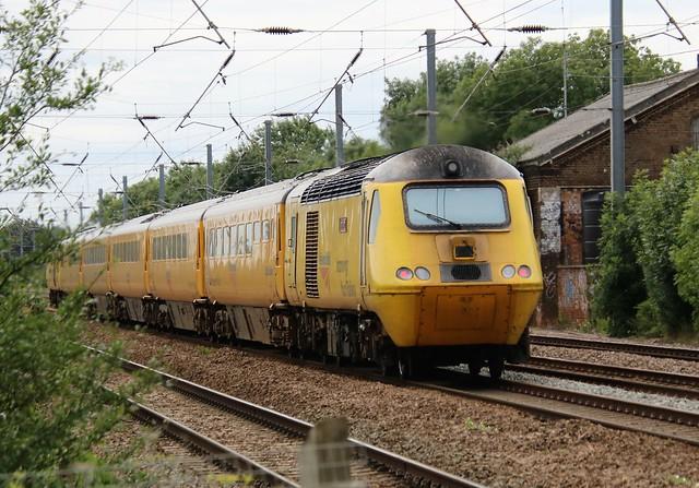 43014 (on rear) Tempsford (north of Sandy) 20200713 Heaton to Cambridge