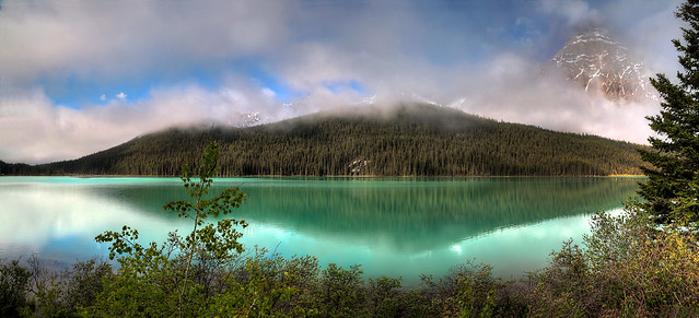 Waterfowl Lake, Banff Nationalpark