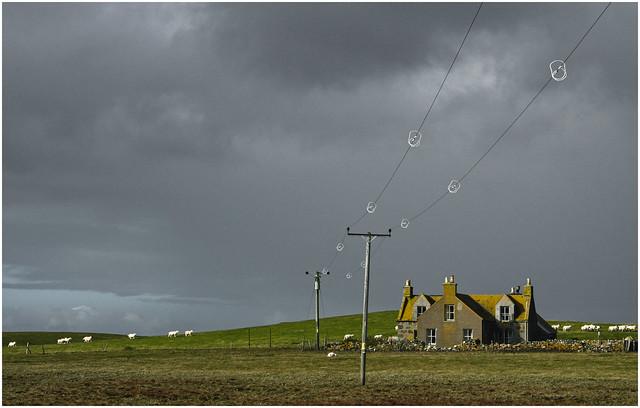 Approaching Storm, Uist 2008