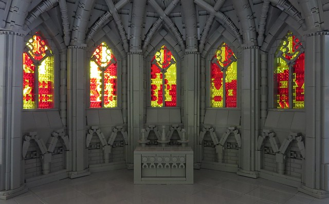 Tri-color Cathedral