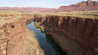 Arizona - Marble Canyon:  mighty Colorado near Lee's Ferry, marks the beginning of the Grand Canyon | by Traveller-Reini