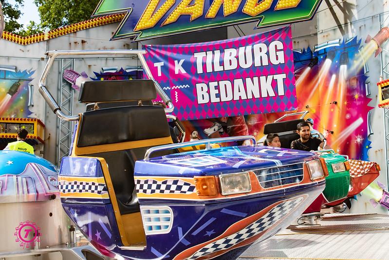 Sfeerbeelden Tilburgse vakantiekermis | Zondag 26  Juli 2020