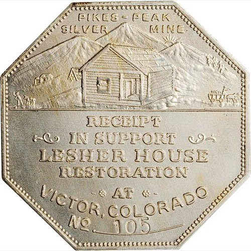 Lesher House Restoration Souvenir Dollar reverse | by Numismatic Bibliomania Society