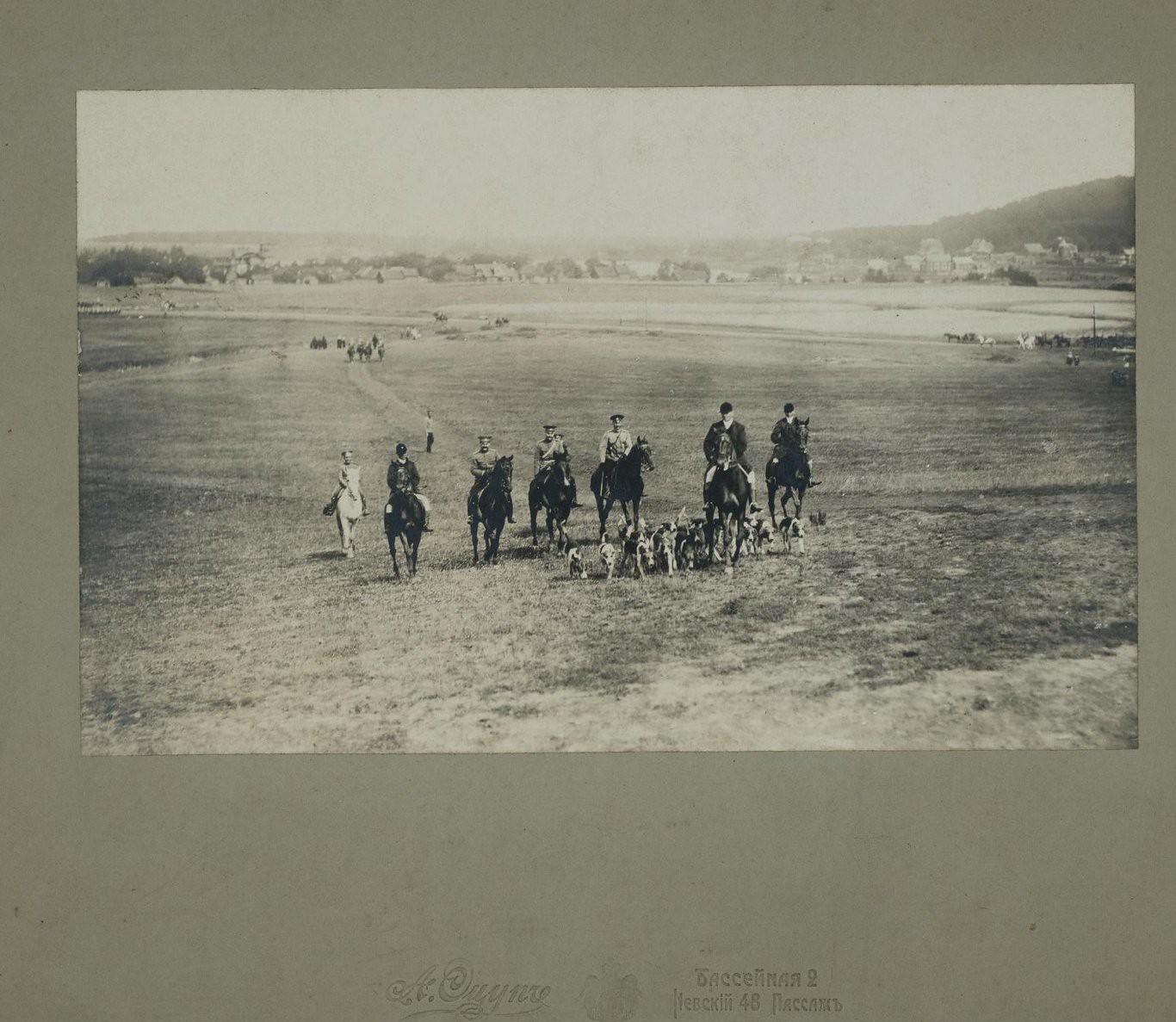 1900-е. Парфорсная охота