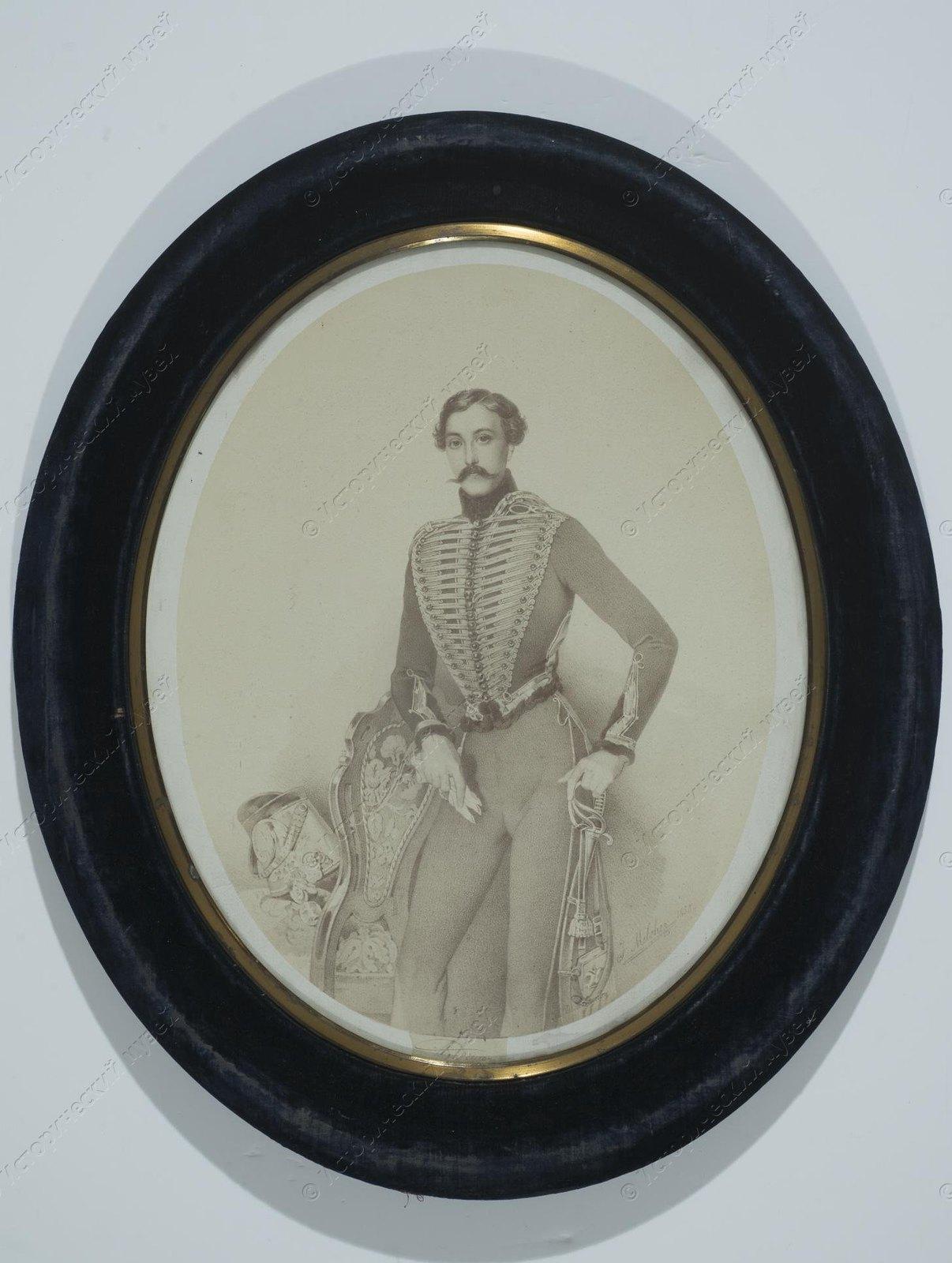 1890-е. Святополк-Четвертинский Владимир Борисович - князь. И.Г. Дьяговченко.